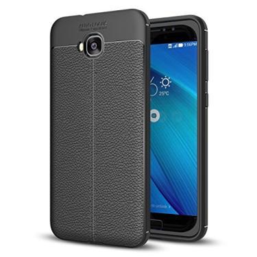 Capa para Asus Zenfone 4 Selfie ZD553KL, capa de couro sintético para Asus Zenfone 4 Selfie ZD553KL, capa macia de TPU antiderrapante para Asus Zenfone 4 Selfie ZD553KL