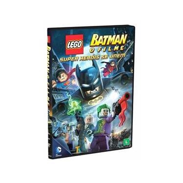 Imagem de DVD - Batman Lego: O Filme - Super-Heróis se Unem