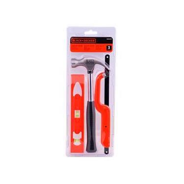 Kit de ferramentas 3 peças BD80292-840 Black+Decker