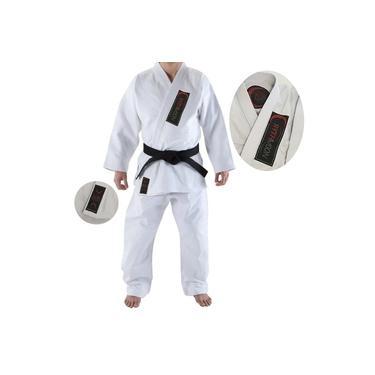 Kimono de Jiu-Jitsu Adulto Branco Rythmoon