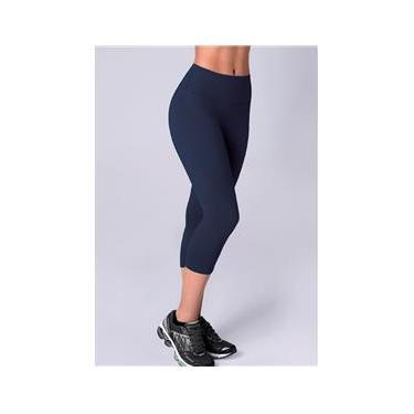 Calça Corsário Fitness Azul - Selene