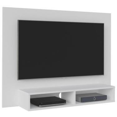 Painel Bancada Suspensa para TV até 42 Pol. Flash Branco - Artely