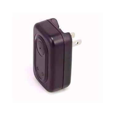 Mini câmera espiã em carregador de celular que filma em HD