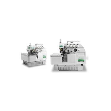 Máquina de Costura Overlock Industrial, Ponto Cadeia, 2 Agulhas, 4 Fios, Transp. Simples, 6000ppm, Lubrif. Automática, ZJ747A