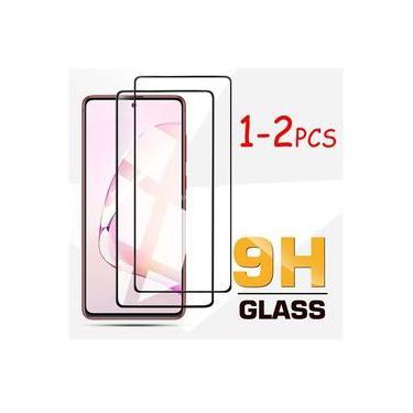 Kit 2 Película De Vidro 9d 9h Galaxy Note 10 Lite - Cobre Toda Tela