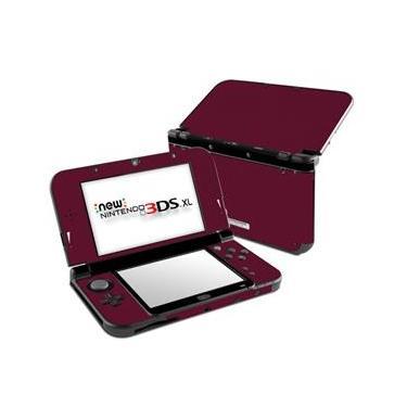 Skin Adesivo Protetor New Nintendo 3DS XL (Vinho)
