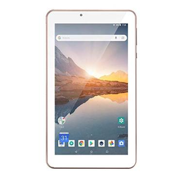 Tablet M7S Plus+ Wi-Fi e Bluetooth Quad Core Memória 16GB 7 Pol. Câmera Frontal 1.3MP e Traseira 2.0MP 1GB RAM Android 8.1 Rosa Multilaser - NB300