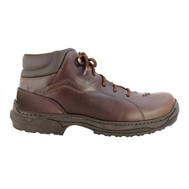 Coturno Country Hb Agabe Boots - 409.006 - Pu Tabaco - Solado de Borracha Coturno Country Hb Agabe Boots - 409.006 - Pu Tabaco - Numero:37