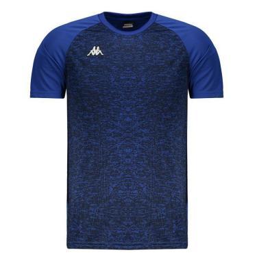 Camisa Kappa Matteo Royal Azul - M