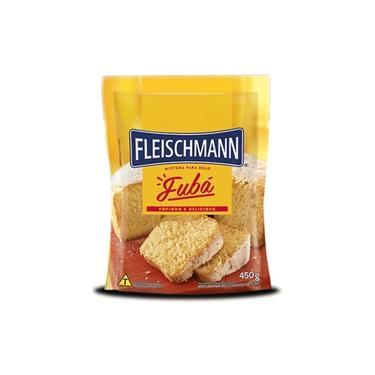 Mistura para Bolo Fubá 450g - Fleischmann