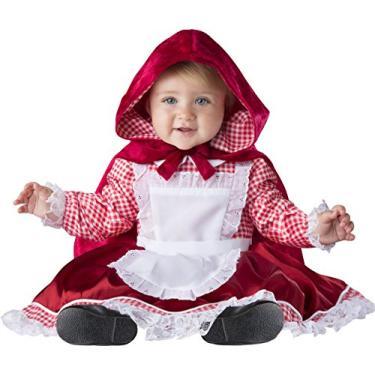 Imagem de Fantasia infantil de luxo Chapeuzinho Vermelho, Vermelho, 0/6 Months
