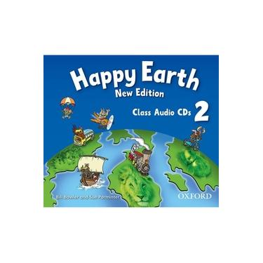 Happy Earth - Class Audio Cds - Level 2 - Editora Oxford - 9780194732949