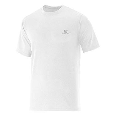 Camiseta Masculina Comet S60108 Branco - Salomon - EGG