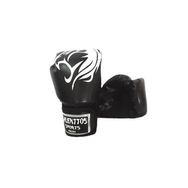 Luva Muay Thai Talenttos Sport Fight 14 Oz Preta