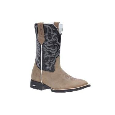 Bota Country Cano Longo Masculina Cow Way Areia 21598