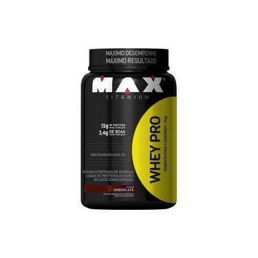 Whey Pro - Whey Protein Concentrado 1kg - Max Titanium