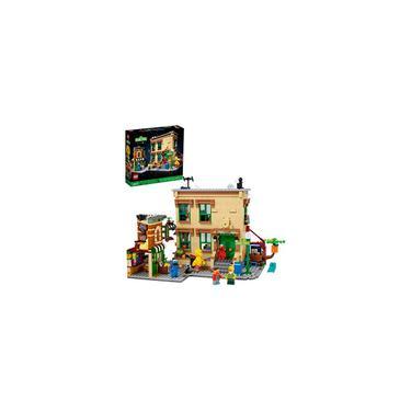 Imagem de Lego Ideas 123 Sesame Street 21324 Building Kit Impressionante modelo de construção e exibição para adultos com Elmo, Cookie Monster, Oscar The Grouch, Bert, Ernie e Big Bird, New 2021 (1.367 peças)