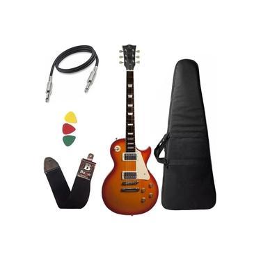 Imagem de Guitarra Michael Les Paul GM750N Vintage Sunburst capa bag