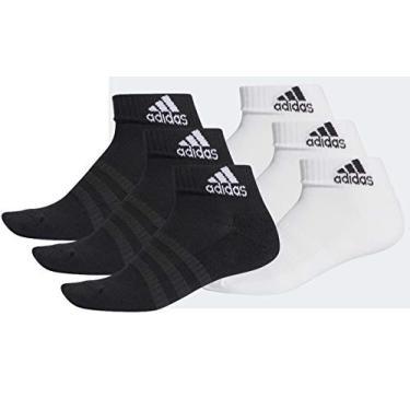 Kit de Meias Adidas Cushioned Ankle 3 Pares