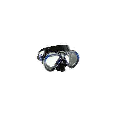 Imagem de Máscara Mergulho Fun Dive Onix Azul Silicone Vidro Temperado