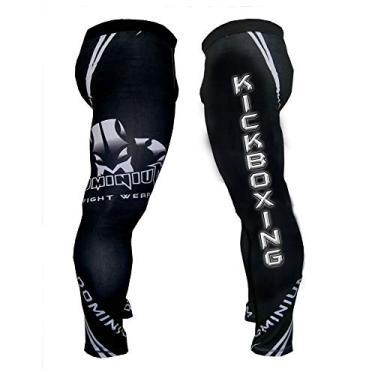 Imagem de Calça de Compressão Termica Legging - Masculina - 2203 KIck Boxing - XGG