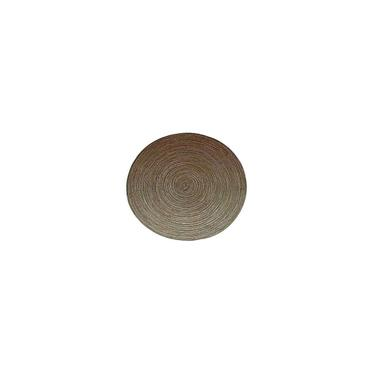 Imagem de Jogo com 4 Lugares Americano Redondo 38cm Marrom Mesclado Mimo Style