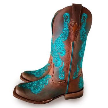Bota Feminina Texana Dallas Furta Cor Goyazes  feminino