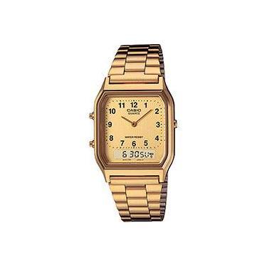 8e7280293ca6 Relógio Unissex Casio Analógico Digital AQ-230GA-9BMQ
