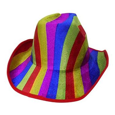 be63429244e68 Chapeu Cowboy Kit Com 3 Colorido Festa Carnaval Baile Fantasia (BSL-2544-9