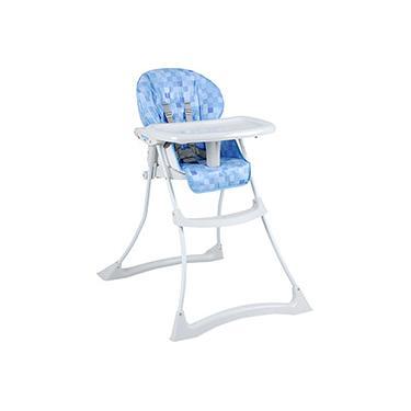 Cadeira Refeição Papa & Soneca Cubes Azul - Burigotto