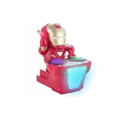 Marvel Avengers Endgame Super Heroes Dj Homem de Ferro LED e M¨²sica Brinquedos-BecauseU