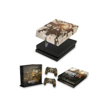 Capa Anti Poeira e Skin para PS4 Fat - Resident Evil 7: Biohazard
