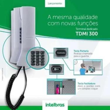 Imagem de Telefone Terminal Dedicado Tdmi 200 Intelbras Interfone