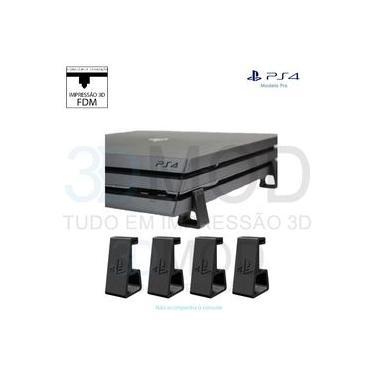 Suporte Pezinhos Horizontal para Playstation 4 Ps4 Pro