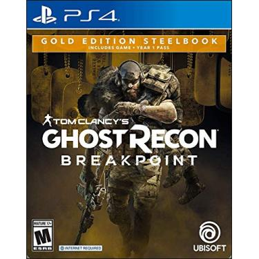 Tom Clancy's Ghost Recon Breakpoint Steelbook Gold Edition forPlayStation 4