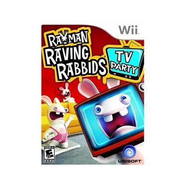 Jogo Novo Raving Rabbids TV Party Para Nintendo Wii