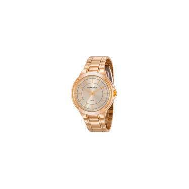 72d320e383c Relógio de Pulso Feminino Mondaine Aço Resistente a àgua