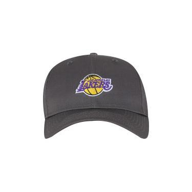 Boné Aba Curva New Era 940 Los Angeles Lakers SN - Snapback - Adulto New Era Unissex