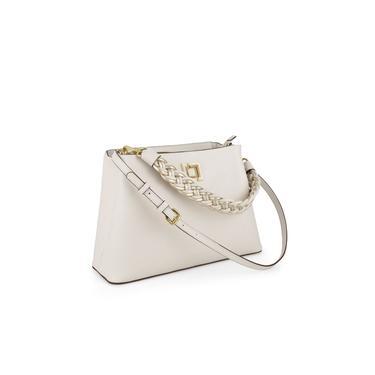 Bolsa de Couro Feminina Luz Da Lua 6493V3.21 Branco