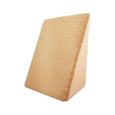 Imagem de Encosto de Espuma Nasa Viscoelastica Triangular Travesseiro Antivarizes Com Capa - Emcompre