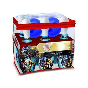 Brinquedo Jogo de Boliche Carros Transformers da Lider 9063