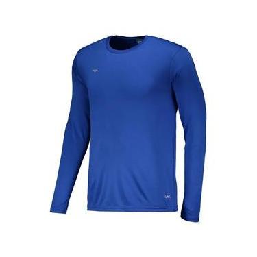 Camisa Penalty Matís 2 IX Manga Longa Adulto - Azul