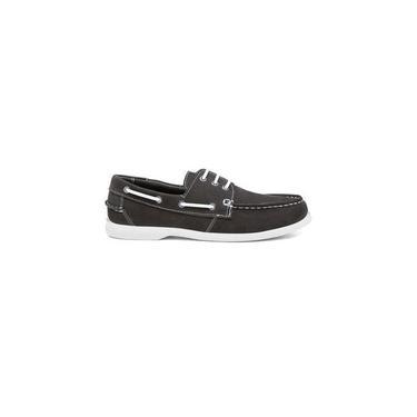 Sapato Mocassim Casual Youth Couro Chumbo Sd500 Tamanho De Calçado Adulto:38