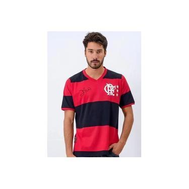 Camisa Flamengo Libertadores 81 Zico