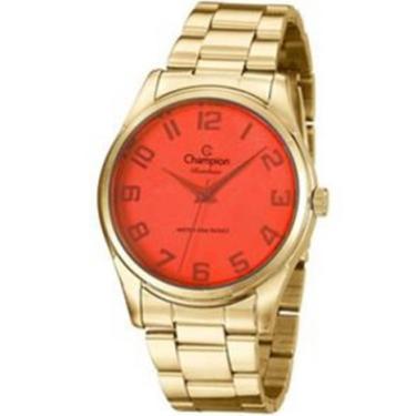 369a293d458 Relógio Feminino Champion Analógico Rainbow Dourado - CN29883W