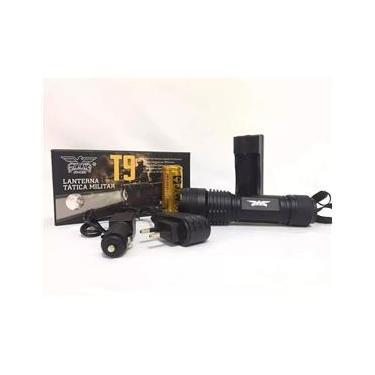 Lanterna Tática Militar Super Led T9
