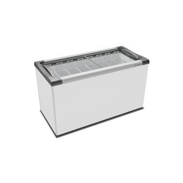 Freezer Horizontal Congelados Tampa Vidro 308 Lts NF40S - Metalfrio
