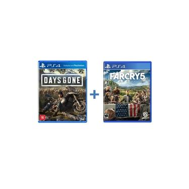 Combo Days Gone + Far Cry 5 - PS4