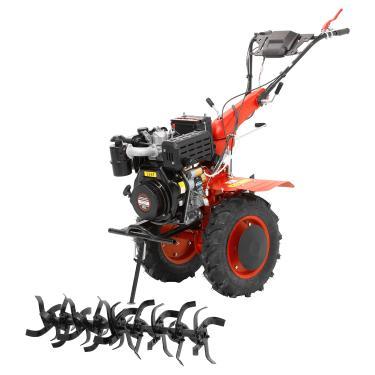 Micro Trator Motocultivador 10hp 406cc Diesel Partida Elétrica com Enxada Rotativa - NMCD10E