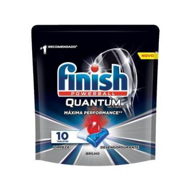 Detergente em Tabletes Lava-Louças Finish - Powerball Quantum Ultimate